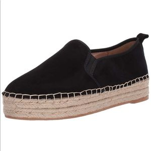 Sam Edelman black espadrille sneakers